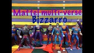 Mattel Multi-verse BIZZARRO action figure toy review