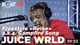 Juice WRLD freestyle sur