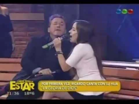 La Gloria de Dios, Ricardo Montaner junto a su hija