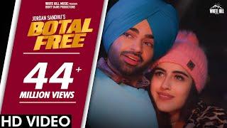 Botal Free – Jordan Sandhu Video HD