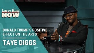 Taye Diggs Talks Donald Trump's Positive Effect on the Arts
