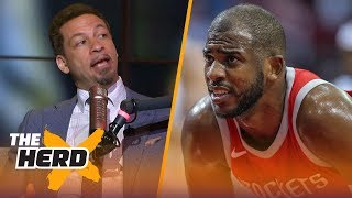 Chris Broussard on Lakers' drama deterring LeBron, Chris Paul supermax demands | NBA | THE HERD