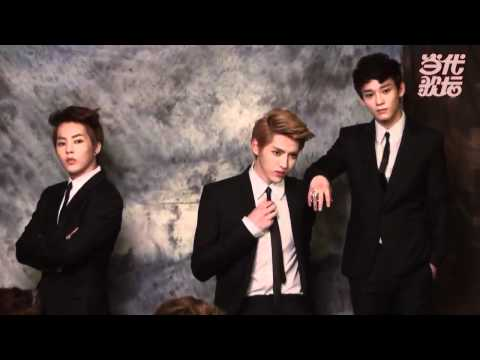 [HD]EXO-M Dangdaigetan (Magazine Making Film).mp4