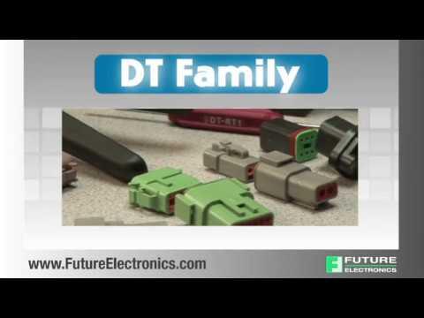 TE Connectivity: DT, DTM and DTP Series