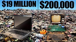 The Most Expensive Things Ever Thrown Away