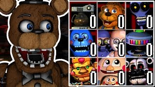 WITHERED FREDDY PLAYS: Rejected Custom Night || MORE REJECTED CHARACTERS GET A CUSTOM NIGHT!!!