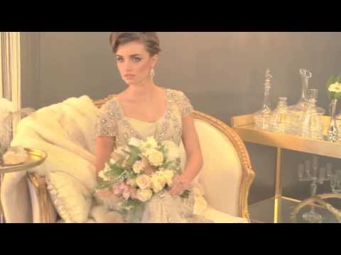 Vintage Wedding Fashion Photo Shoot Video -- mywedding.com