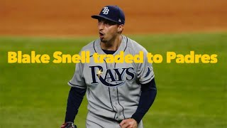 Dodgers perspective: What Blake Snell trade means for Padres, NL West