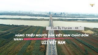 U23 Việt Nam Về Nước, Hàng Triệu Người Việt Nam Xếp Hàng Dọc Đường Đón Chào