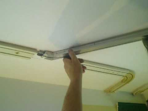 Easy Hang Curtain Track System Youtube