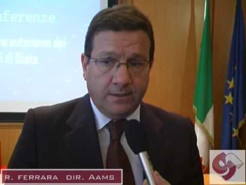 Raffaele Ferrara, Dir.GeneraleAAMS.mp4