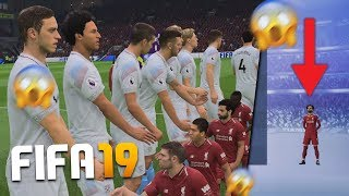 TEAM OF TINY PLAYERS v HUGE PLAYERS ON FIFA 19 *BREAKS FIFA*