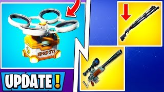 *ALL* Fortnite 9.10 Changes! | Hot Spots, Shotgun Nerf, Unvaulted Weapon!