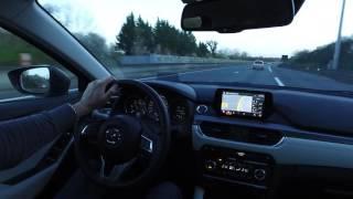 Mazda6 2016 - Day & night POV drive
