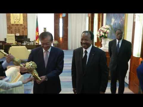 Audience accordée par S.E. Paul BIYA à M. ZHANG-MING, vice-ministre chinois des Affaires étrangères