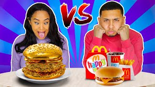 CHEAP VS EXPENSIVE FOOD CHALLENGE!