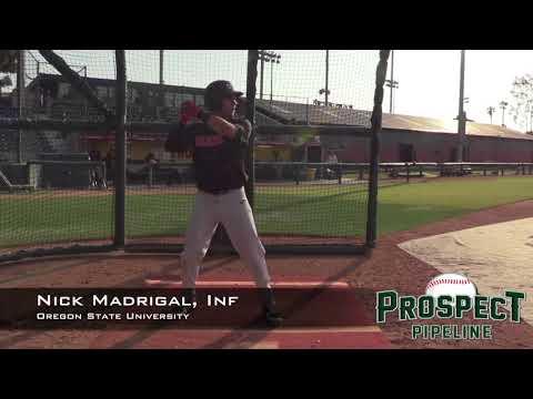 Nick Madrigal Prospect Video, Inf, Oregon State University
