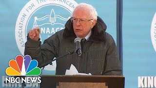 Bernie Sanders: 'We Now Have A President Of The United States Who Is A Racist' | NBC News