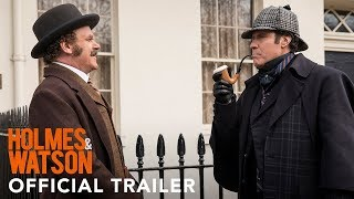 HOLMES AND WATSON - Official Tra HD