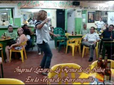 La Reina de La Salsa Ingrid Lazaro