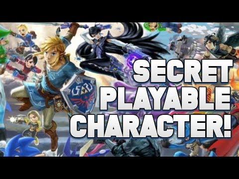 A HUGE SPOILER for Super Smash Ultimate with a SECRET Playable CHARACTER! (MAJOR SPOILER)