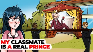 My Classmate is a Real Prince   Animated Story about the Royal Family