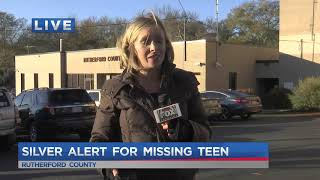 Silver Alert issued for missing WNC teen