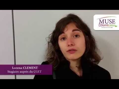 Lorena CLEMENT, stagiaire, CGET