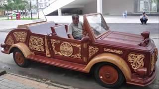 Chuyện lạ đời - Siêu xe được làm bằng gỗ duy nhất tại Việt Nam