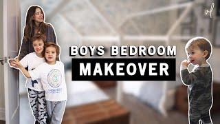 The Ultimate KIDS Bedroom Makeover + Room Tour