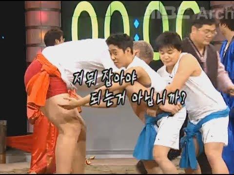 040215 대단한 도전(씨름, 최홍만) 은지원(Eun Jiwon) 720p