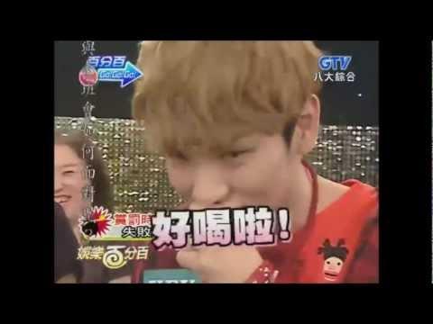 [Eng] SHINee Speaking English@100% Entertainment 120628