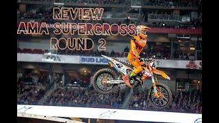 REVIEW AMA Supercross Etapa 02 Glendale (Leandro Silva 14)