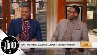 Paul Pierce and Tracy McGrady can't get over Eric Bledsoe's Terry Rozier comments | The Jump | ESPN