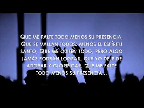 Que Me Falte Todo - Con letra - Zuleyka Barreiro