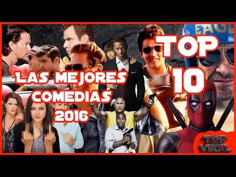 Top 10 Mejores Peliculas De Comedia 2016 | Top Cinema