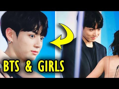 BTS With Girls - Try Not To Laugh (방탄소년단 / 防弾少年团) #2