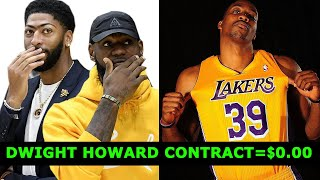 Dwight Howard To The LAKERS! His Contract = $0.00!! THIS IS WHY