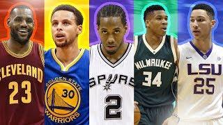 BEST NBA PLAYER FROM EACH DRAFT CLASS