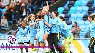Manchester City Women 2-0 Chelsea Ladies | Goals & Highlights