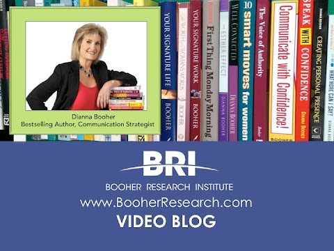 Dianna Booher: Conversation Killers and How to Avoid Them