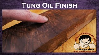 The LIES and confusion of Tung Oil wood finish