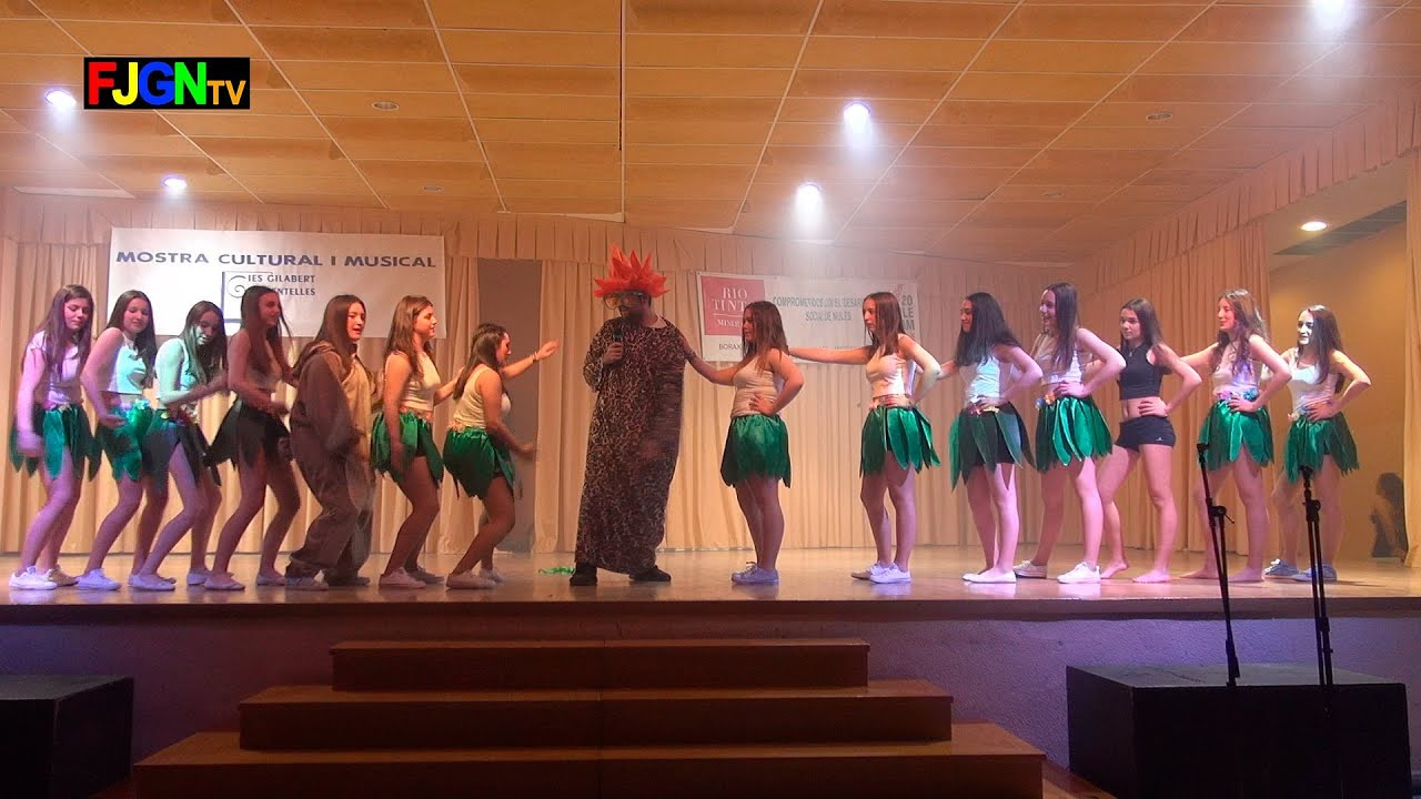 06. Asereje/Barbie girl/Quiero ser como tu/Bomba - Bailes Educacion Fisica 2016 IES Nules