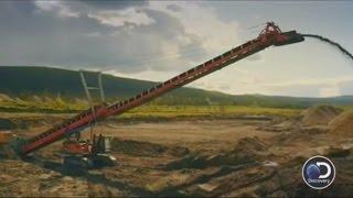 Gold rush excavator conveyor belt invention