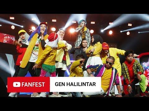 GEN HALILINTAR @ YouTube FanFest Jakarta 2018