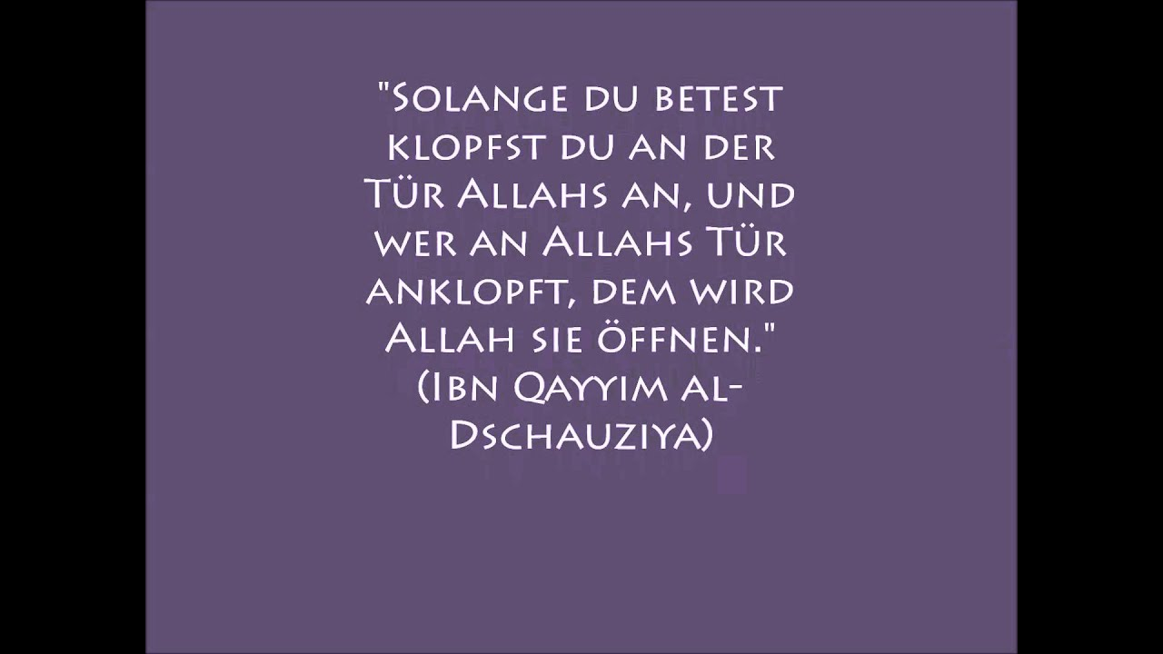 Islamische sprüche