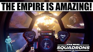 The Empire is AMAZING in Star Wars Squadrons (...the Tie Interceptor Dominates!)