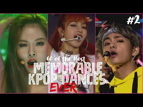 60 MORE of the Most Memorable KPop Dances EVER