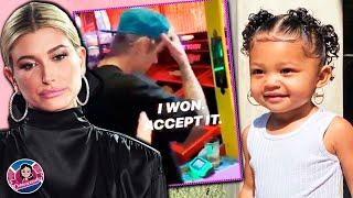 Justin Bieber se enoja con Hailey Bieber en público + Kylie Jenner criticada por aretes de Stormi 🤨