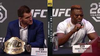 UFC 220: Press Conference Highlights